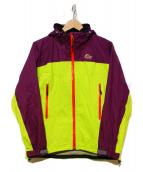 Lowe alpine(ロウアルパイン)の古着「ゴアテックス パフォーマンス ラインジャケット」|イエロー×パープル