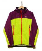 Lowe Alpine(ロウアルパイン)の古着「ゴアテックス パフォーマンス ラインジャケット」 イエロー×パープル