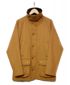 Barbour(バブアー)の古着「ウールカシミア混ジャケット」|ブラウン