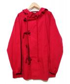 FILL THE BILL(フィルザビル)の古着「オーバーサイズミリタリージャケット」|レッド