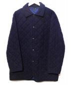 OLD ENGLAND(オールドイングランド)の古着「キルティングコート」|ネイビー