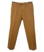CellarDoor(セラドール)の古着「センタープレスパンツ」|ベージュ