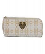 ATAO(アタオ)の古着「ラウンドファスナー長財布」|ベージュ