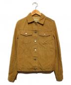 HELMUT LANG(ヘルムートラング)の古着「デニムジャケット」|ブラウン