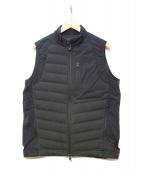 White Mountaineering(ホワイトマウンテニアリング)の古着「ポリエステル タフタ ジャカート ダウンジャケット」|ブラック