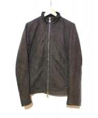 10 SEI 0 OTTO(ディエチセイゼロオット)の古着「レザージャケット」 ブラック