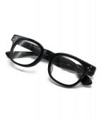 BEAUTY&YOUTH × KANEKO OPTICAL(ビューティ&ユースxカネコオプチカル)の古着「伊達眼鏡」|ブラック
