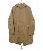 B:MING LIFE STORE(ビーミングライフストア)の古着「フーデッドコート」|ベージュ
