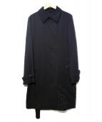 SANYO(サンヨー)の古着「ステンカラーコート」 ブラック