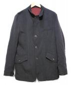 MONTEDORO(モンテドーロ)の古着「ウールジャケット」|ブラック