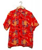 Sun Surf(サンサーフ)の古着「Iハワイアン・カヒリ アロハシャツ」|レッド