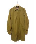 SEALUP(シーラップ)の古着「ステンカラーコート」 オリーブ