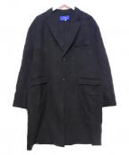 ITEMS URBAN RESEARCH(アイテムズ アーバンリサーチ)の古着「ダブルチェスターコート」|ブラック