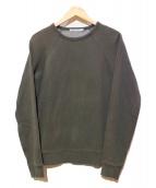 T ALEXANDER WANG(アレキサンダーワン)の古着「ヴィンテージ フリース スウェットシャツ」|グレー