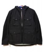 BURBERRY BLACK LABEL(バーバリーブラックレーベル)の古着「マウンテンパーカー」|ブラック