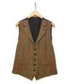LARDINI(ラルディーニ)の古着「ジレ」|ブラウン