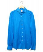 Catarisano(カタリザーノ)の古着「長袖シャツ」|ブルー