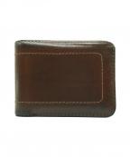 LOUIS VUITTON()の古着「2つ折り財布」|ブラウン