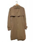 KOLOR(カラ)の古着「ライトペーパーテックスコート」 ブラウン
