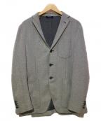 GRAN SASSO(グランサッソ)の古着「テーラードジャケット」|グレー