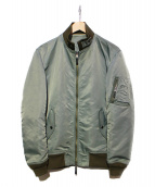 MINOTAUR(ミノトール)の古着「MA-1ジャケット」|グリーン