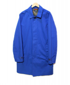 JACK SPADE(ジャックスペード)の古着「ステンカラーコート」 ブルー