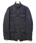 MONTEDORO(モンテドーロ)の古着「中綿ジャケット」|ネイビー
