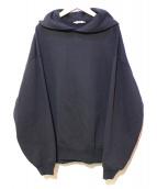 AURALEE(オーラリー)の古着「プルオーバーパーカー」|ブラック