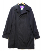 THE NORTH FACE × BEAMS(ノースフェイス × ビームス)の古着「65/35ベイヘッドクロスステンカラーコート」|ブラック