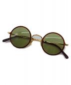 白山眼鏡 × The Stylist Japan(ハクサンメガネ × ザスタイリストジャパン)の古着「サングラス」|ブラウン