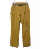 MILLET(ミレー)の古着「ティフォン50000 ウォームストレッチトレックパンツ」|ベージュ