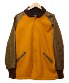 SKOOKUM(スクーカム)の古着「スタジャン」|イエロー