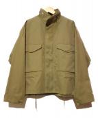 STUNNING LURE(スタニングルアー)の古着「M65オーバーブルゾン」|ベージュ