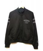 VANSON(バンソン)の古着「ブルゾン」|ブラック