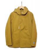 ORCIVAL(オーシバル)の古着「コットン ボンディング ジャケット」|ベージュ