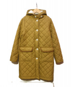 Traditional Weatherwear(トラディショナルウェザーウェア)の古着「キルティングコート」|ベージュ
