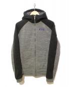 Patagonia(パタゴニア)の古着「Insulated Better Sweater Hoody」|グレー×ブラック