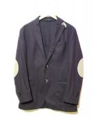 L.B.M.1911(エルビーエム1911)の古着「ウールテーラードジャケット」|ネイビー