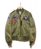 TED COMPANY(テッドカンパニー)の古着「L-2Bフライトジャケット」|オリーブ