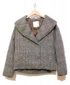 自由区(ジユウク)の古着「ダウンジャケット」|グレー