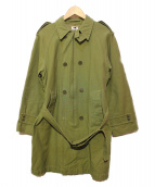 BELAFONTE(ベラフォンテ)の古着「MODIFIED 65 TRENCH」|オリーブ