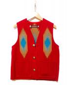 CENTINELA(センチネラ)の古着「チマヨベスト」|レッド