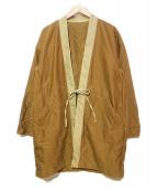UNITED ARROWS & SONS(ユナイテッドアローズアンドサンズ)の古着「羽織ジャケット」 ベージュ