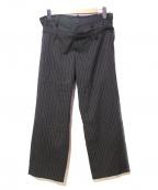 LIMI feu(リミフゥ)の古着「レイヤーパンツ」 グレー