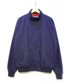 FRED PERRY(フレッドペリ)の古着「ハリントンジャケット」|ネイビー