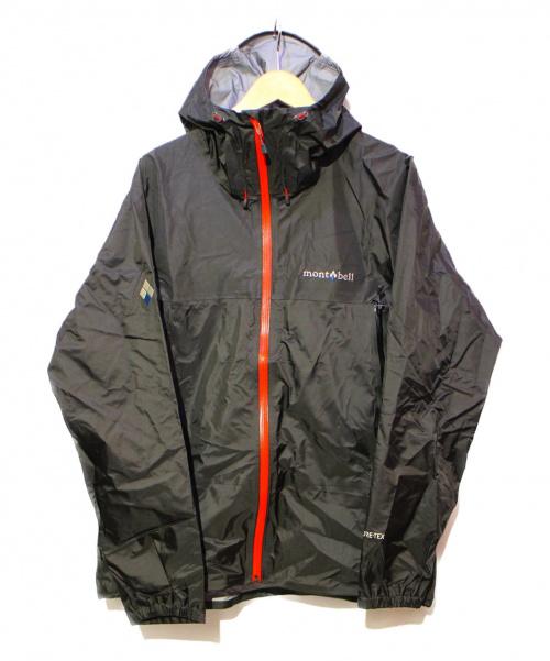 mont-bell(モンベル)mont-bell (モンベル) ストームクルーザージャケット ブラック サイズ:L 未使用品 1128615 参考上代20,800円の古着・服飾アイテム