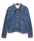 REMI RELIEF(レミレリーフ)の古着「USED加工デニムジャケット」|インディゴ
