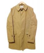 nanamica(ナナミカ)の古着「ステンカラーコート」 ベージュ