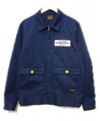 NEIGHBORHOOD(ネイバーフッド)の古着「バックプリントワークジャケット」|ネイビー