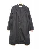 BASISBROEK(バージスブルック)の古着「チェスターコート」|ブラック